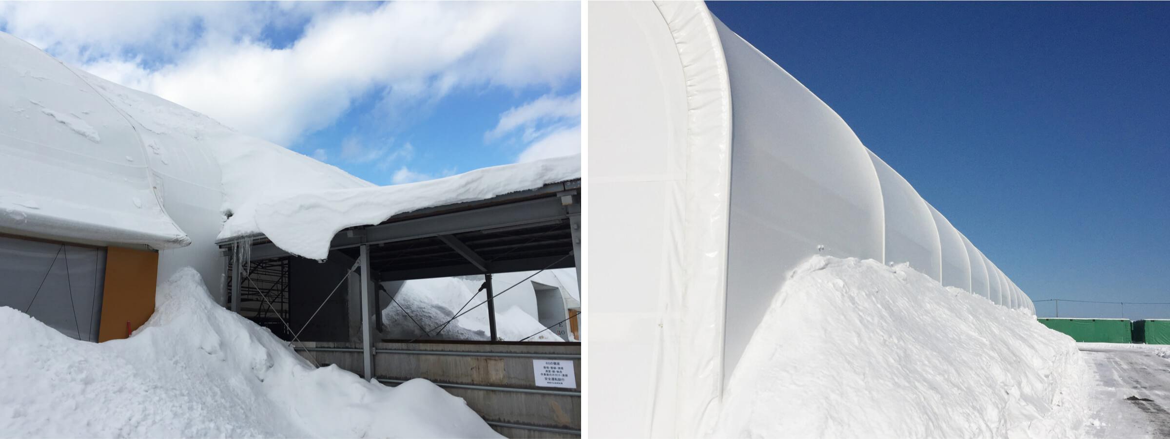タスコドーム積雪時 イメージ