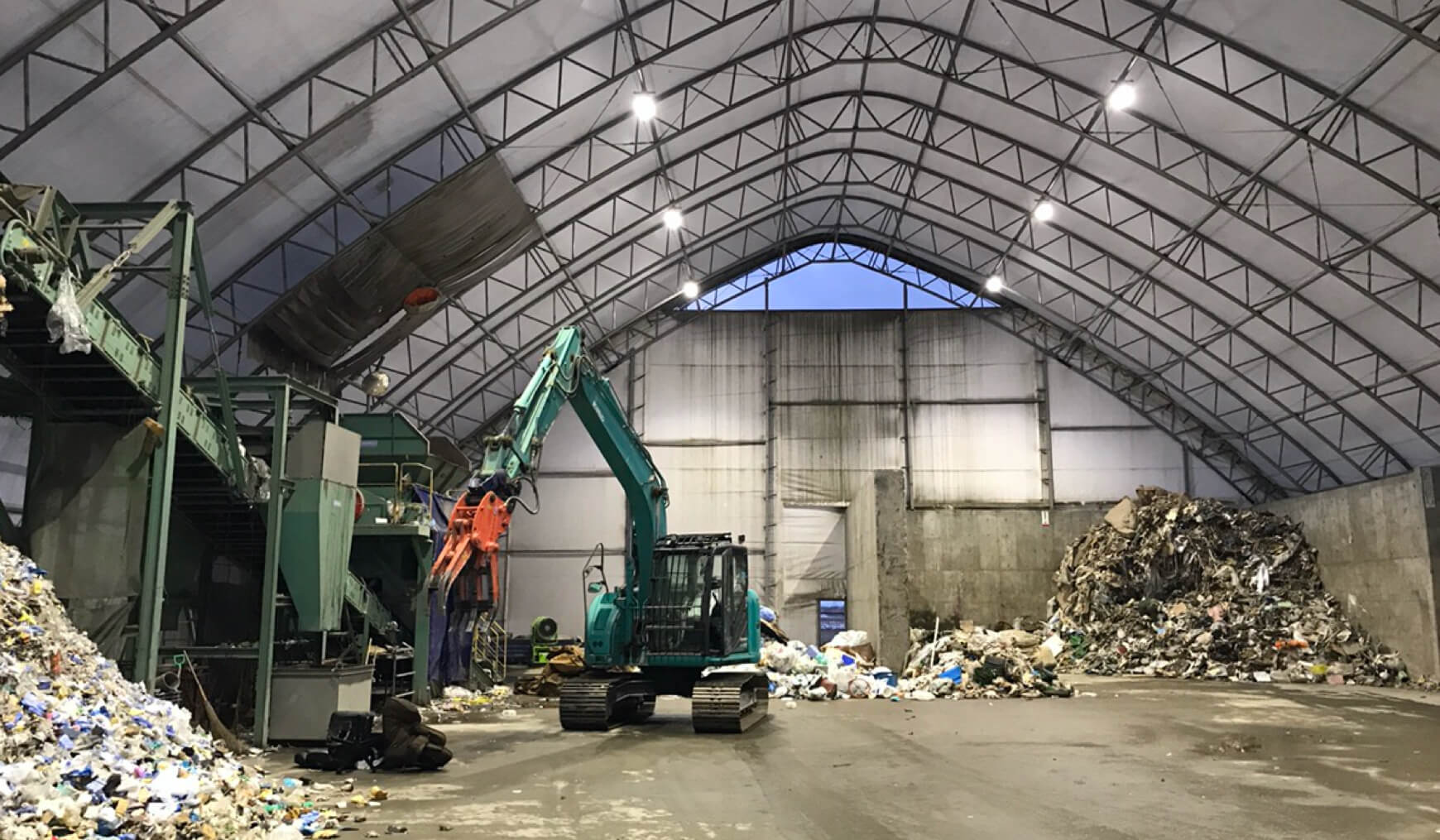 産業廃棄物処理場用ドームの特徴 イメージ 01